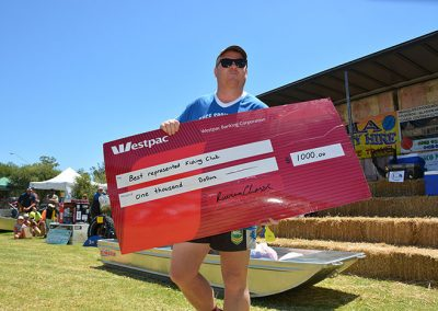 best represented fishing club at the riverina classic fishing competition