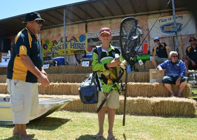Junior Fisherman at Riverina Classic