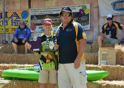Junior Champion at the Riverina Classic